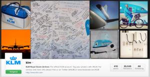 Instagram KLM