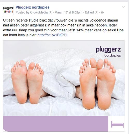 Pluggerz - content delen