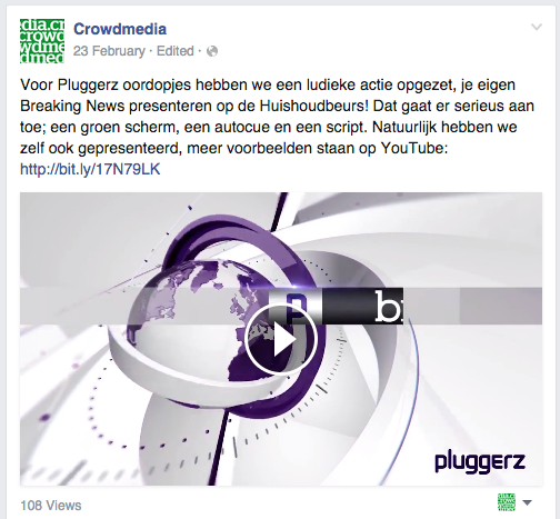Facebook- video uploaden
