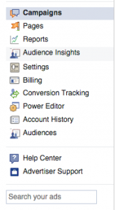 audience insights -